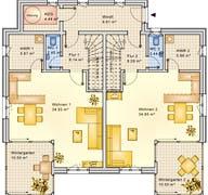 Planungsbeispiel 223DH20 Grundriss