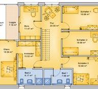 Planungsbeispiel 252H20 Grundriss