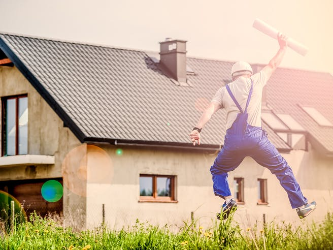 bebauungsplan für Haus