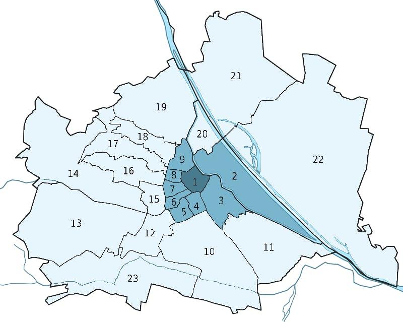 Wien Bezirke