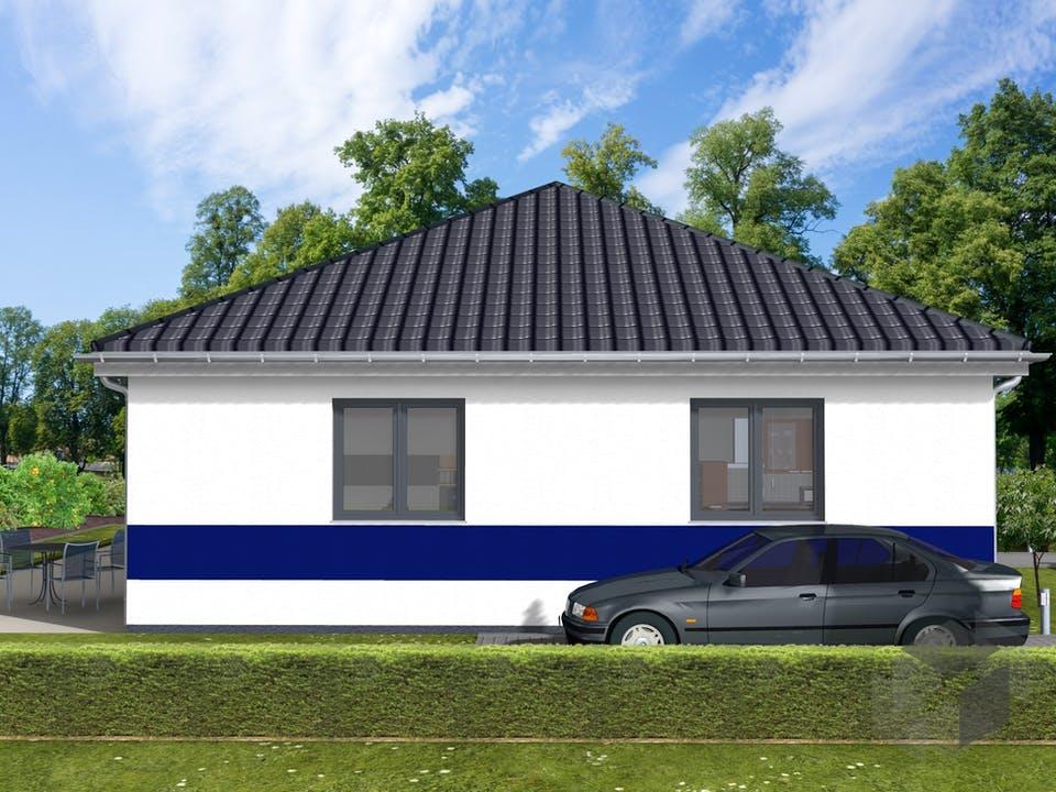 Heide von AVOS Hausbau Außenansicht