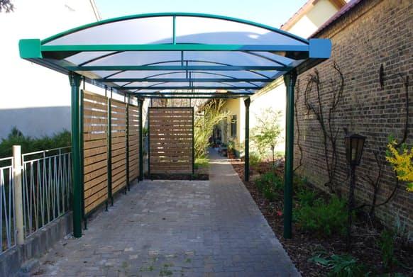Garagen und Carports - Einzel-Carport aus Alumnium - ELEMENT 13