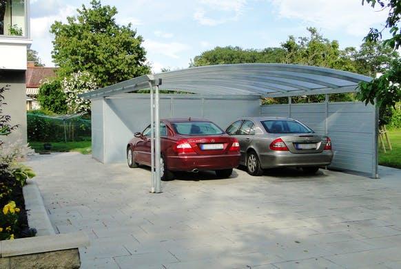 Garagen und Carports - Carport Elipse - Lyngsoe
