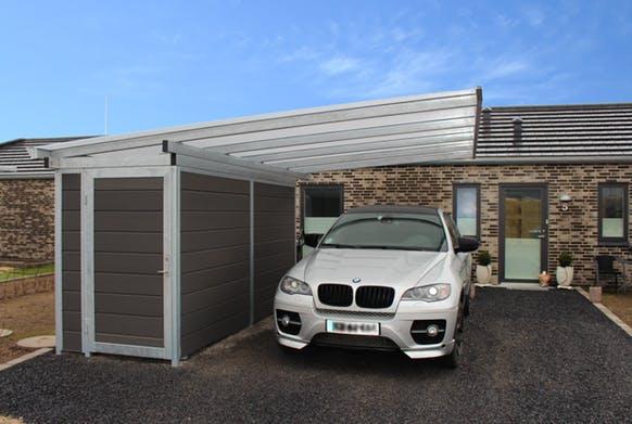 Garagen und Carports - Carport Plan - Lyngsoe