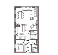 D 15-161.1 - Doppelhaus für Jedermann Grundriss