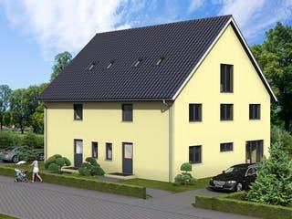 Ballandria von AVOS Hausbau Außenansicht 1
