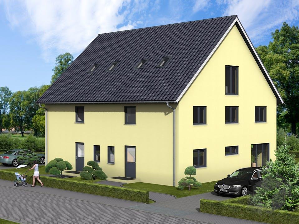 Ballandria von AVOS Hausbau Außenansicht