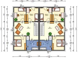 Ballandria von AVOS Hausbau Grundriss 1