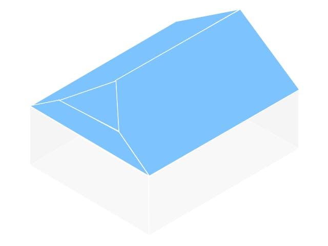 Dachform Krüppelwalmdach