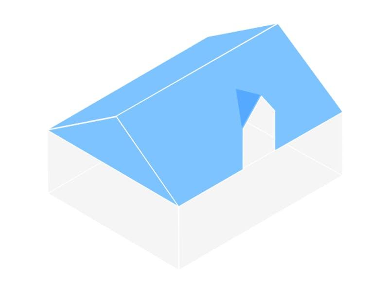 Dachform Zwerchgiebeldach