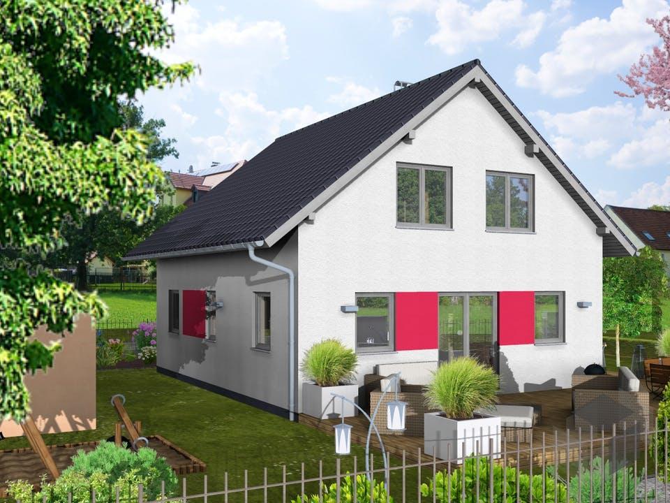 Dahlie von AVOS Hausbau Außenansicht