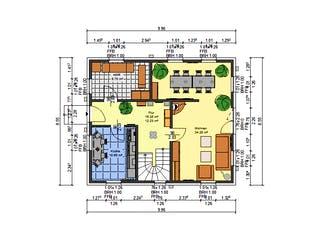 Dahlie von AVOS Hausbau Grundriss 1