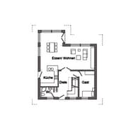 E 15-138.1 - Sonneninsel-Haus Grundriss