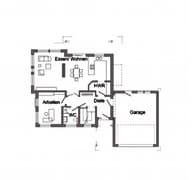 E 15-171.1 - Energieplus-Haus Grundriss