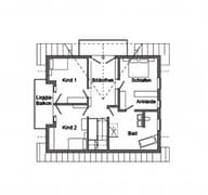 E 15-193.1 - Modernes Landhaus Grundriss