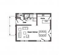 E 20-137.1 - Rotes Familientraumhaus Grundriss