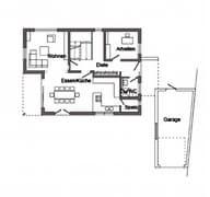E 15-164.1 - Energieplus-Haus mit alpenländischem Charme Grundriss