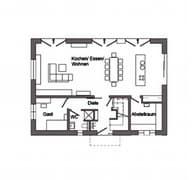 E 15-214.1 - Modernes Pultdachhaus Grundriss