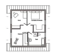 E 15-107.2 - Geräumiges Einfamilienhaus Grundriss