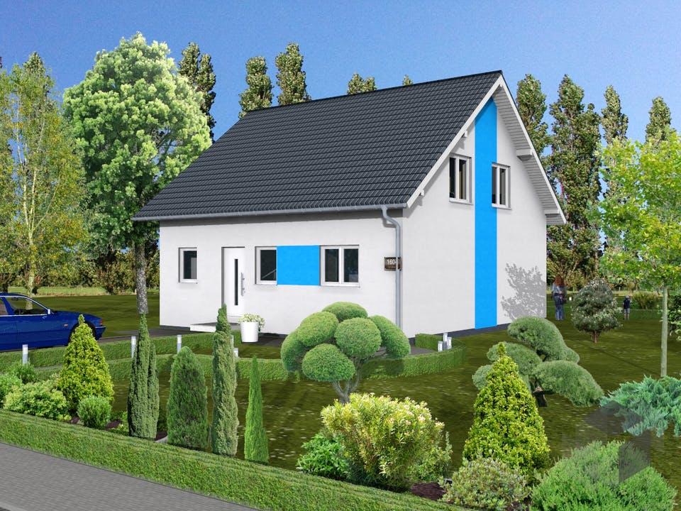 Flieder von AVOS Hausbau Außenansicht
