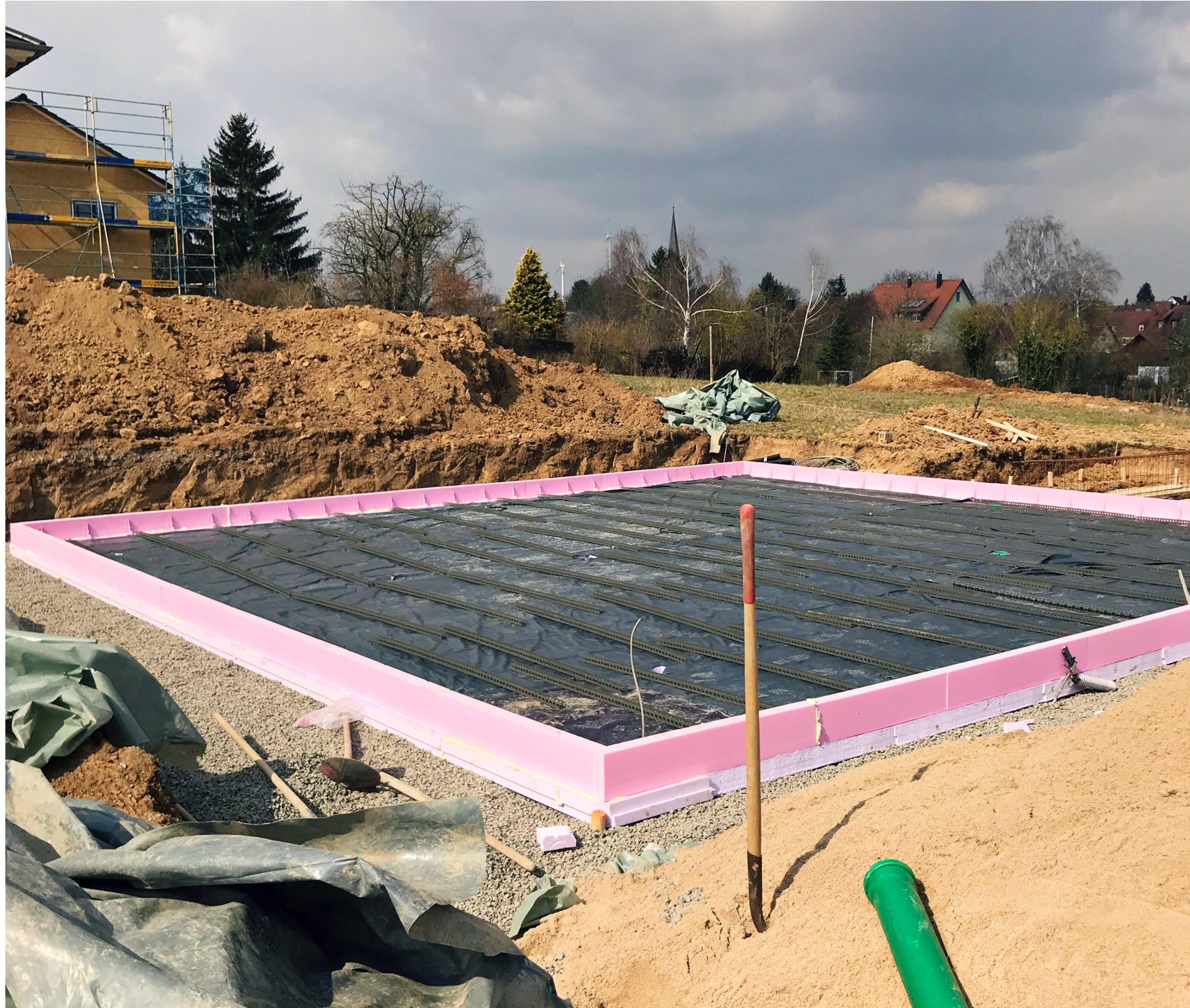 Das Fundament Von Den Erdarbeiten Bis Zur Fertigen Bodenplatte