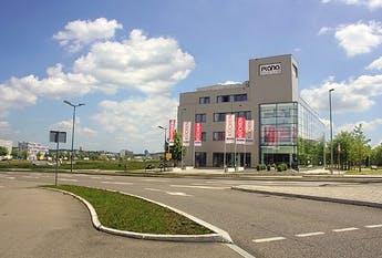 Firmengebäude von PLANA Küchenland