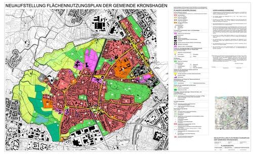 Flächennutzungsplan der Gemeinde Kronshagen