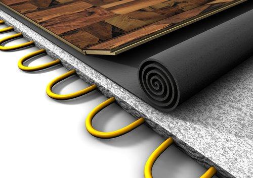 Fußbodenheizung Bodenbelag