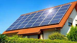 Nullenergiehaus Solarkollektoren