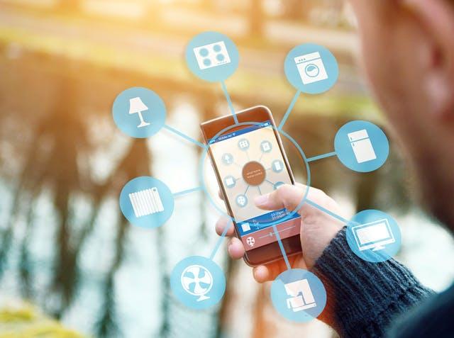 Smart Home mit dem Smartphone verwalten