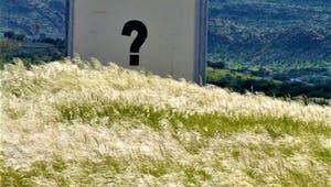 Hausbau Fragezeichen