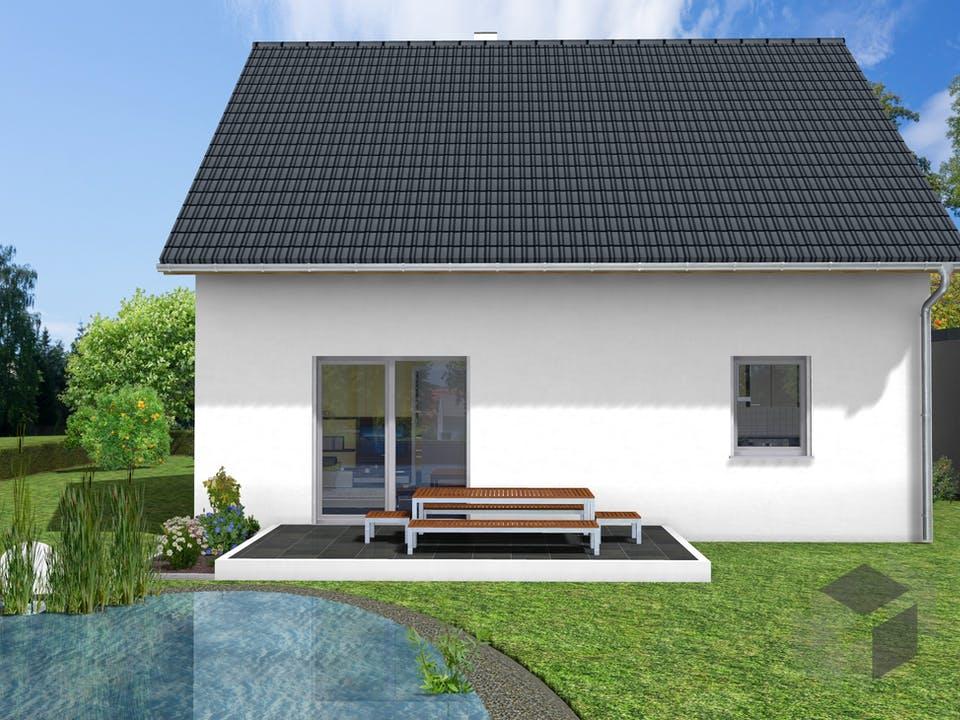 Kleeblatt von AVOS Hausbau Außenansicht