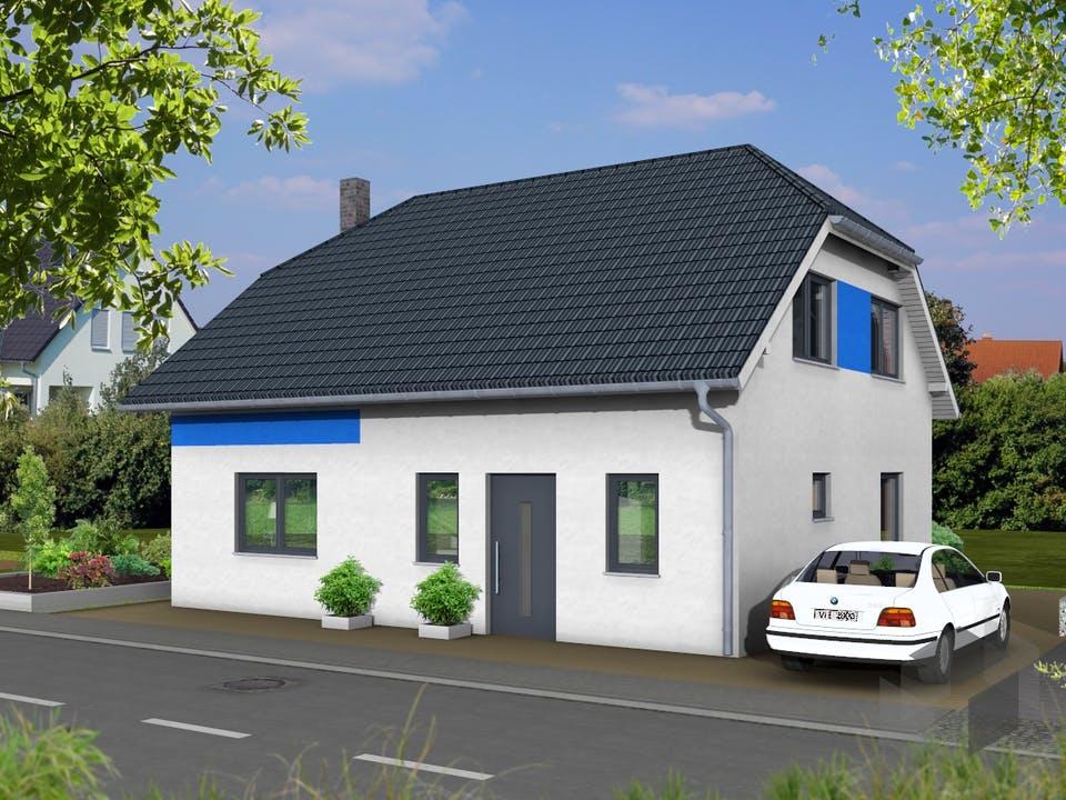Hortensie von AVOS Hausbau Außenansicht