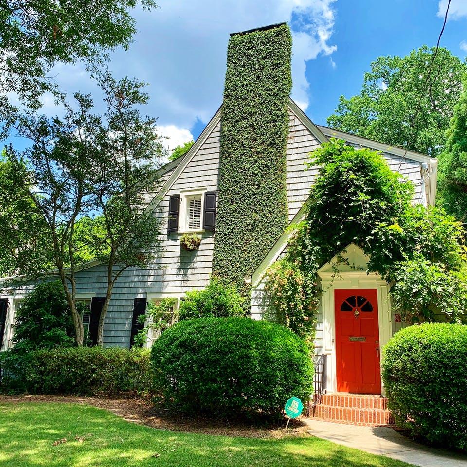 Altes gut erhaltenes Haus