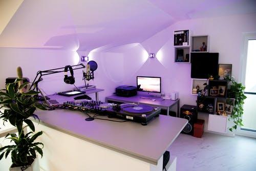 DJ Studio im eigenen Haus