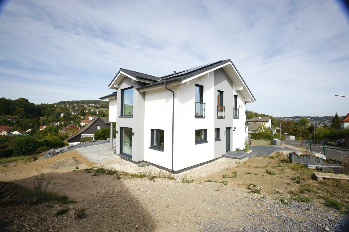 Fertig errichtetes Energieeffizienzhaus von Bien-Zenker