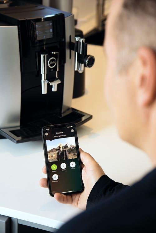 Smart-Home Bedienung mit dem Smartphone