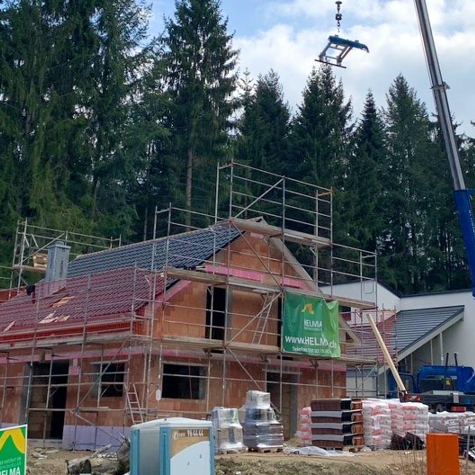 Hausbau Massivhaus in der Corona-Krise