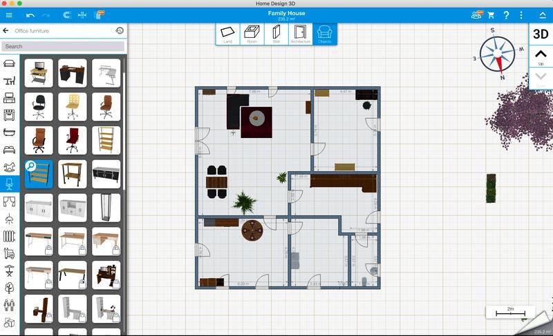 Home Design 3D - 2D Grundriss