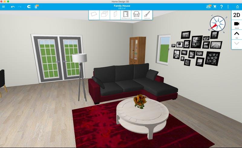 Home Design 3D - 360 Raum