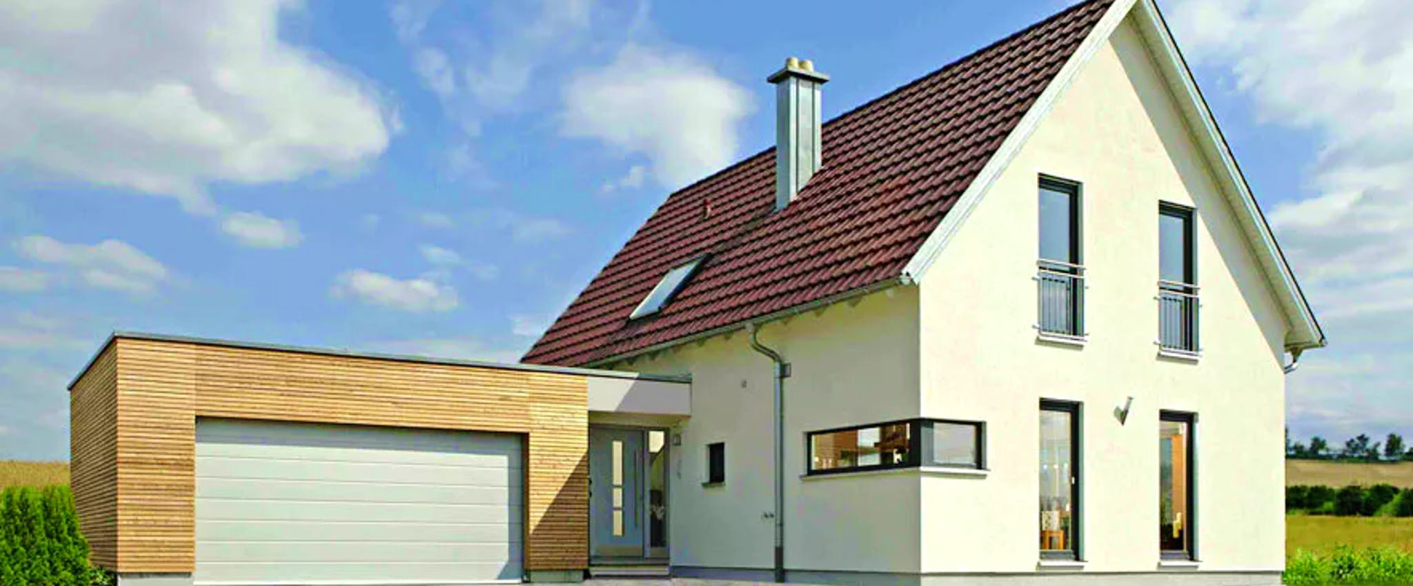 Bevorzugt Ein Haus mit Garage planen & bauen - Häuser & Infos   Fertighaus.de IY21