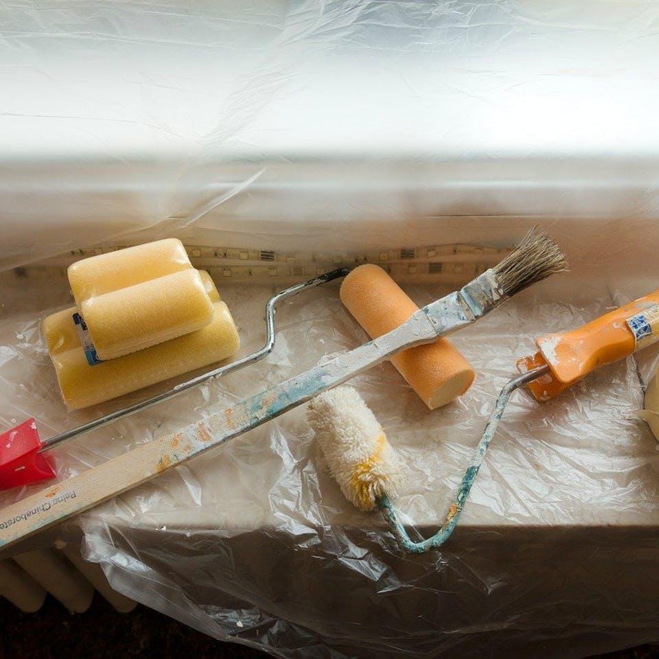Malerausrüstung