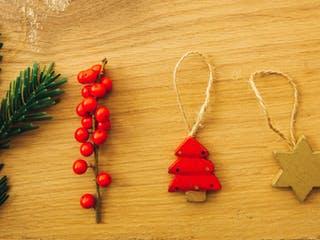 Nachhaltiger Weihnachtsschmuck