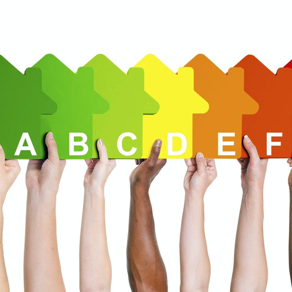 GEG Energieeffizienzklassen für Häuser