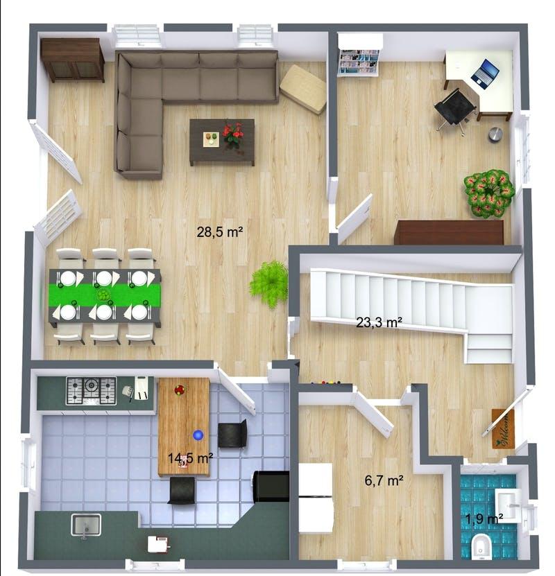 Room Sketcher 3D Grundriss