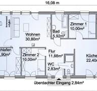 SH 105 B XXL Grundriss