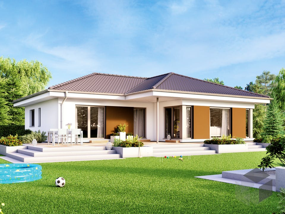 SOLUTION 100 V2 von Living Haus Außenansicht
