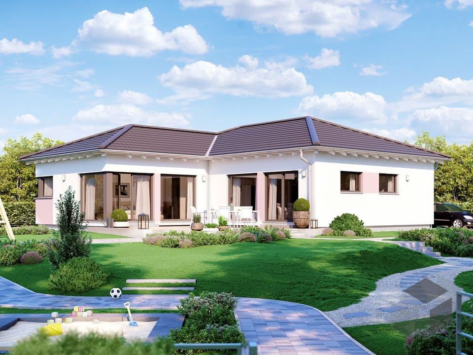 SOLUTION 100 V3 von Living Haus Außenansicht