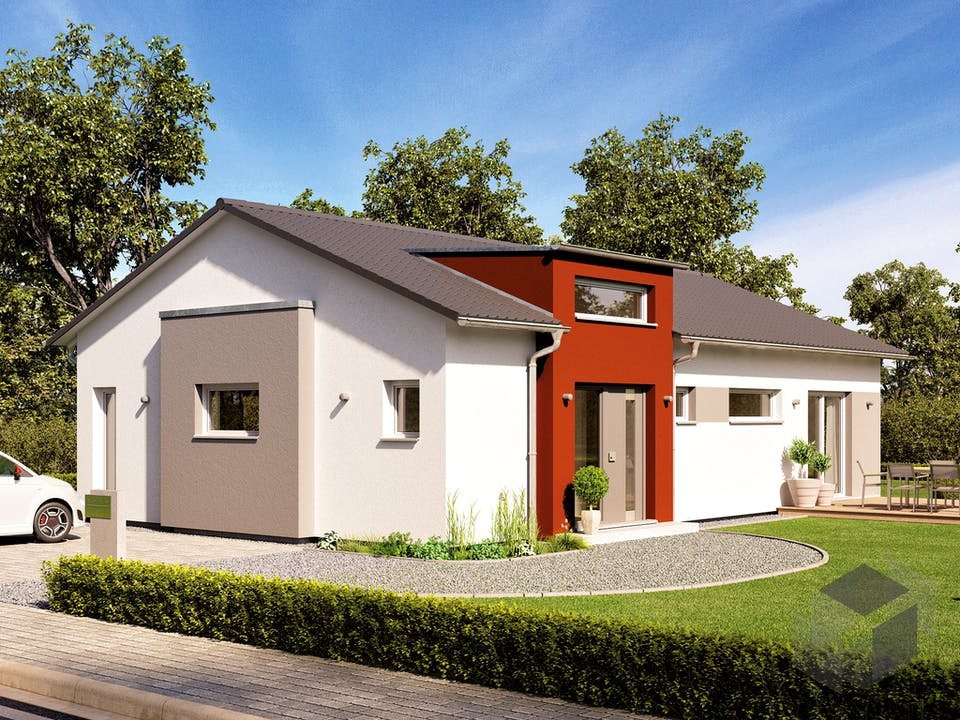 SOLUTION 100 V4 von Living Haus Außenansicht