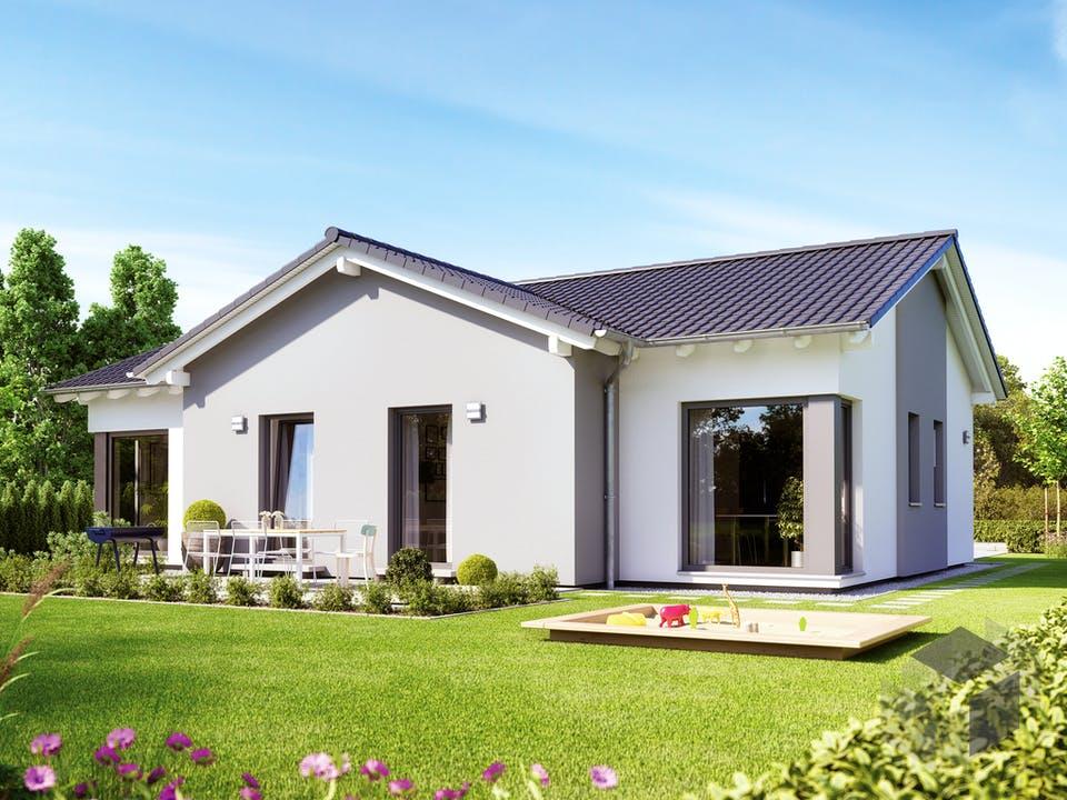 SOLUTION 100 V5 von Living Haus Außenansicht